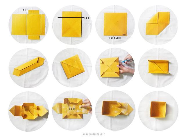 step how to make diy gift box