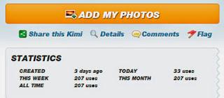 Imikimi - Site de montagem de fotos online
