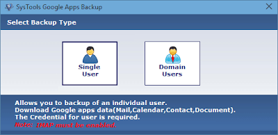 select single or domain user accounts
