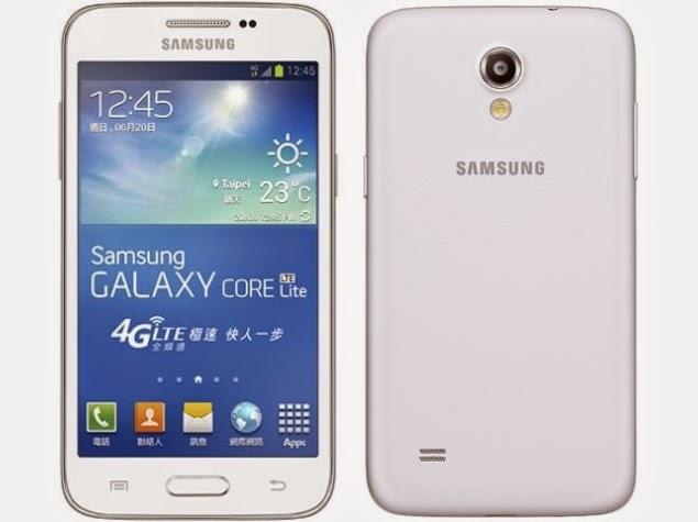 Harga dan Spesifikasi Samsung Galaxy Core Lite LTE