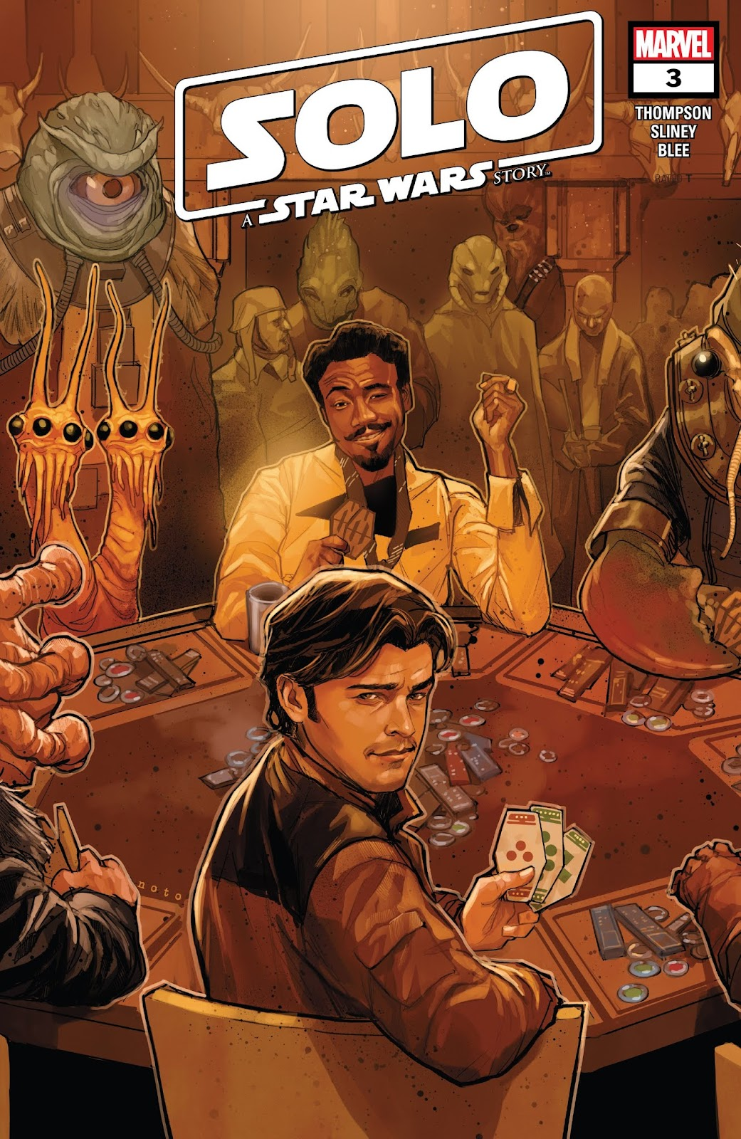 Read online Solo: A Star Wars Story Adaptation comic -  Issue #3 - 1