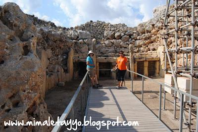 Templos Megalíticos de Ġgantija, Gozo, Malta