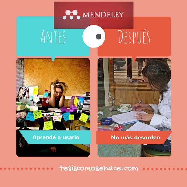 Mendeley como se usa, tesis como se hace