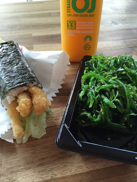 Sushi Boy, Fairfield, sushi, seaweed salad