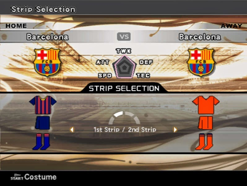 Download Latest Update PES 6 Players, 2014 (June, July, August)