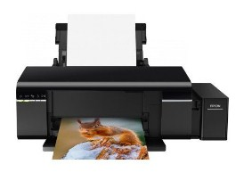 True photograph impress character is genuinely affordable amongst Ink Tank System kickoff inward the basis EPSON L805 Printer Driver Download