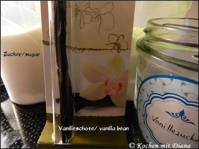 Zutaten Vanillezucker