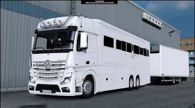 Truck jadi Bus