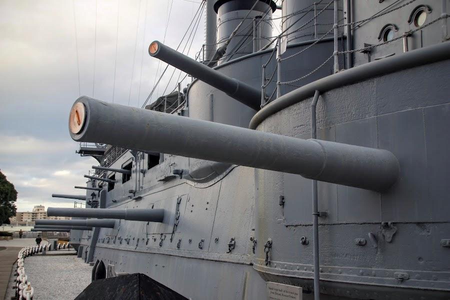 富士伊豆紀行 - 三笠公園 - 憑弔三笠號戰艦的豐功偉績 :: 阿舍的精彩生活