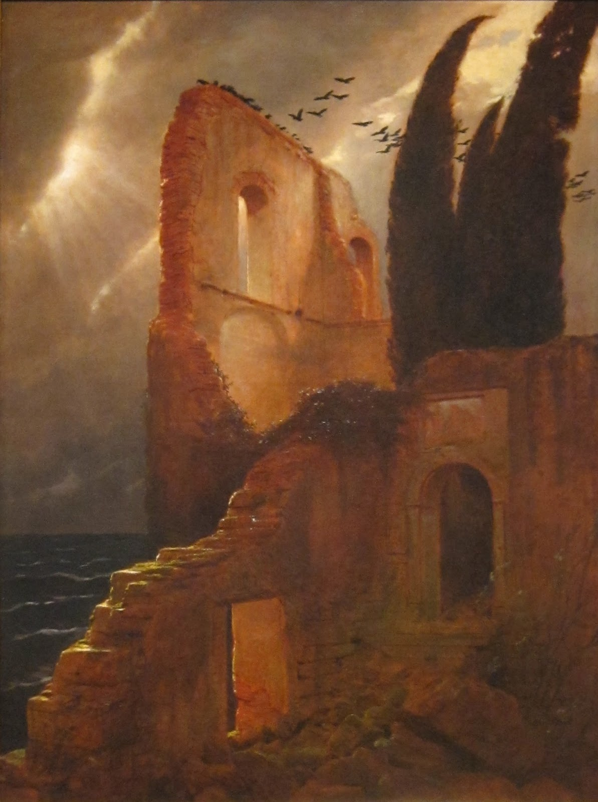 Arnold    C  cklin  Ruin  by  the  sea C
