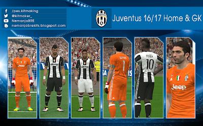 Juventus 2016/17 Home & GK