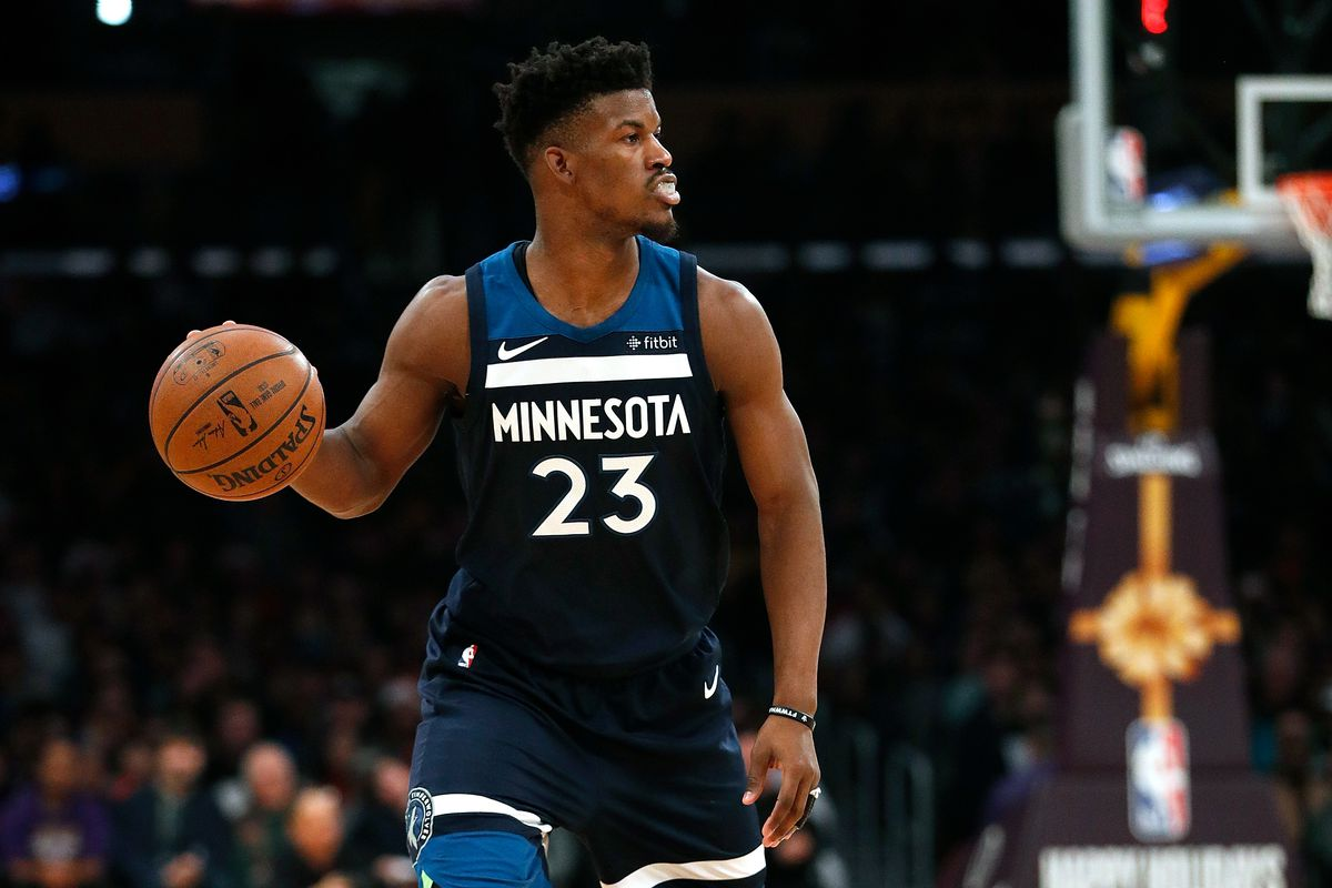 9aae2252572 Baffled Jimmy Butler calls out on Minnesota Timberwolves  poor begin