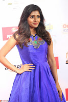 Eesha in Cute Blue Sleevelss Short Frock at Mirchi Music Awards South 2017 ~  Exclusive Celebrities Galleries 054.JPG
