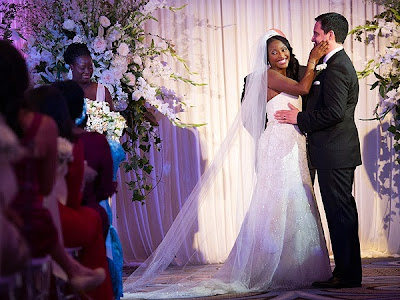 isha sesay wedding photos