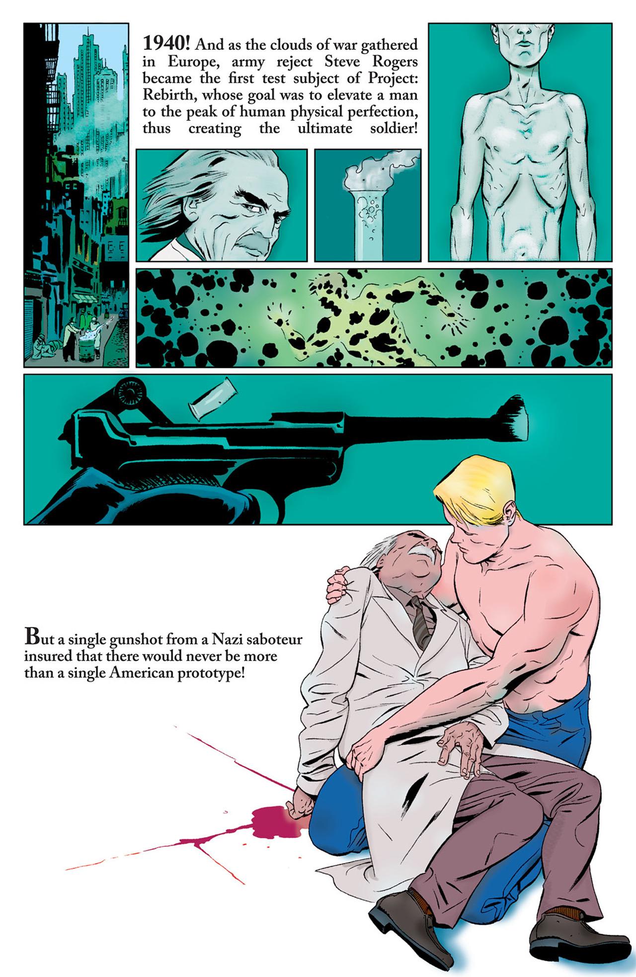 Read online Captain America (2005) comic -  Issue #50 - 25