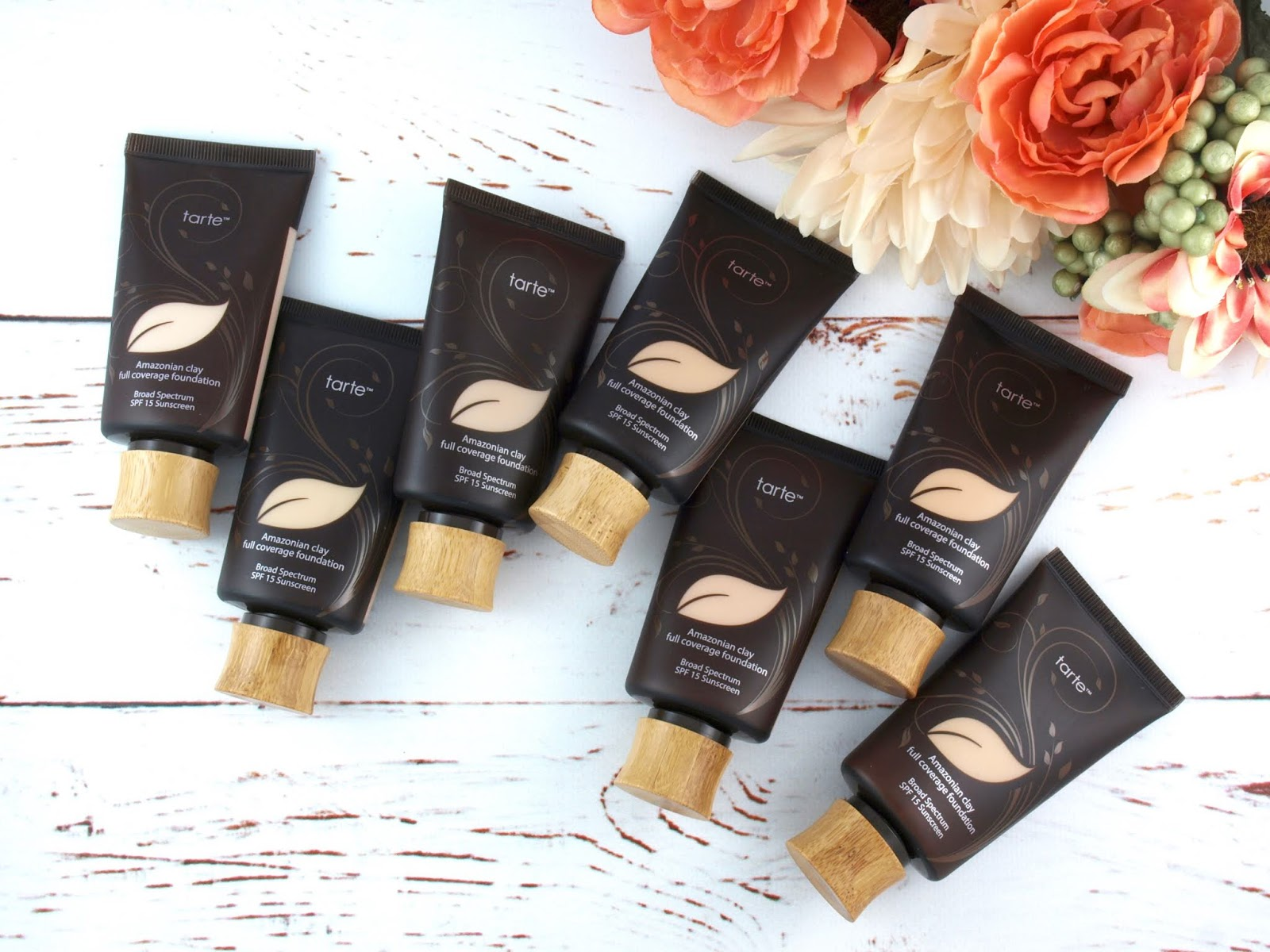 Tarte | Amazonian Clay 12-Hour Full Coverage Foundation: Review and Swatches