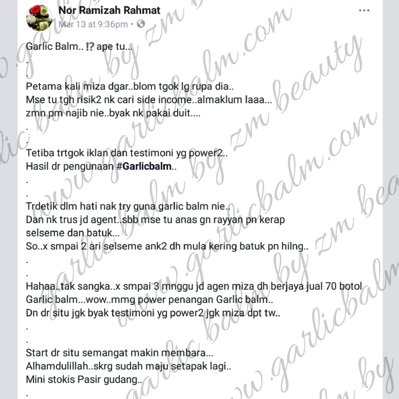 AGENT SAH GARLIC BALM PASIR GUDANG JOHOR