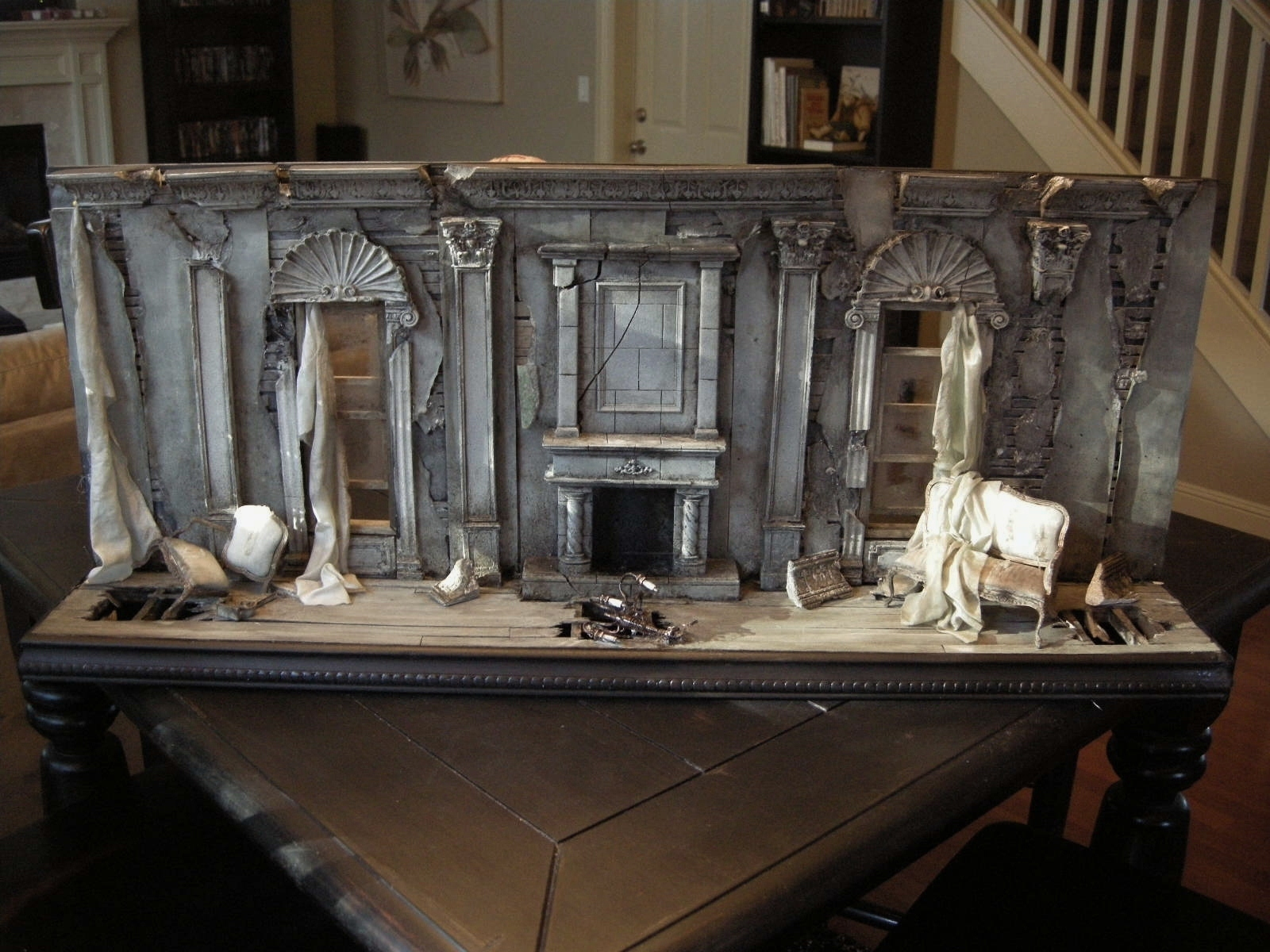 Miniature Children S Bedroom Room Box Diorama: Regent Miniatures: 1:12 Scale Death Of A Grand Dame