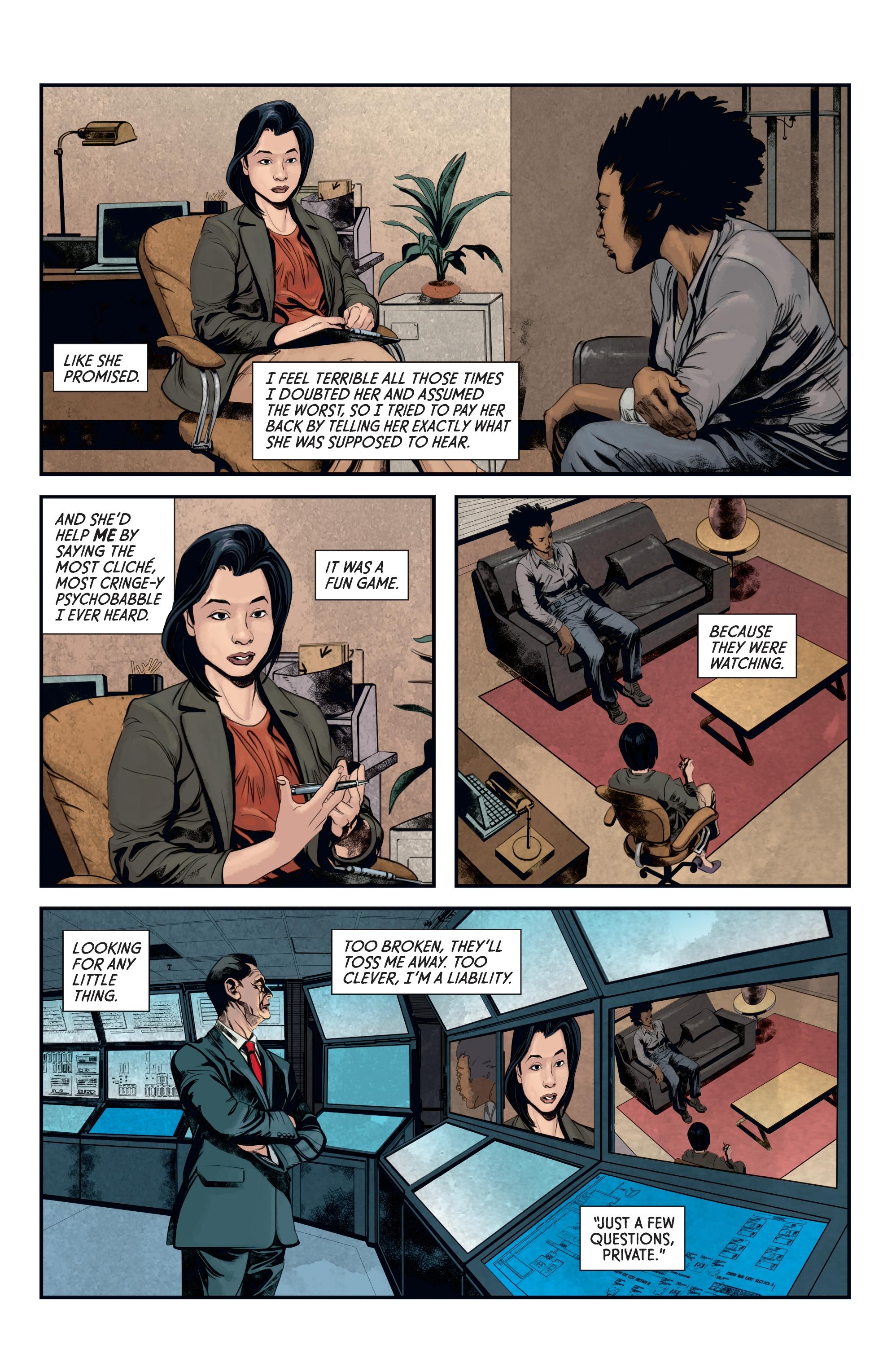 Read online Aliens: Defiance comic -  Issue #12 - 9