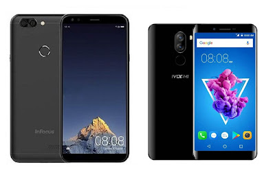 InFocus Vision 3 vs iVoomi i1 : 18:9 Display, Dual Rear Camera