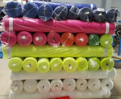thu mua vải thể thao polyester 10%spandex