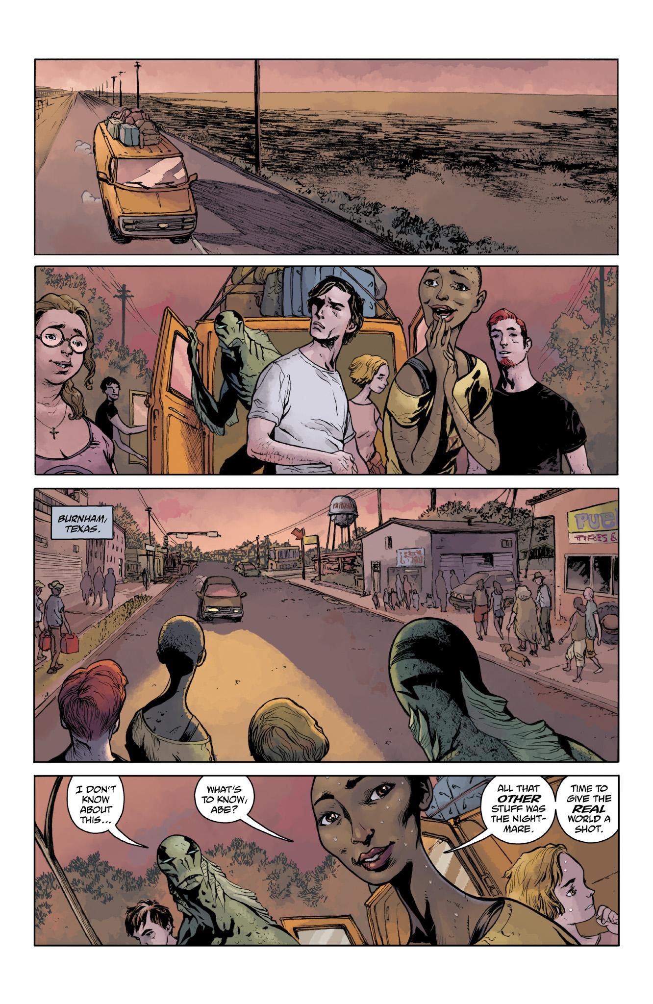 Read online Abe Sapien comic -  Issue #18 - 5