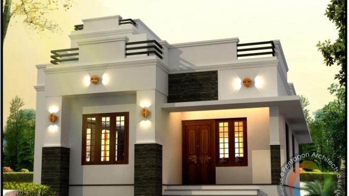 1040 sq ft beautiful home design