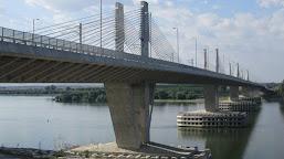 Trafic întrerupt temporar, pe podul Calafat-Vidin