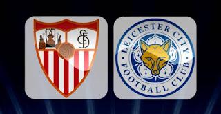 ليستر سيتي يفوز على إشبيلية 2-0 اليوم 14-3-2017 فى دوري أبطال اوربا