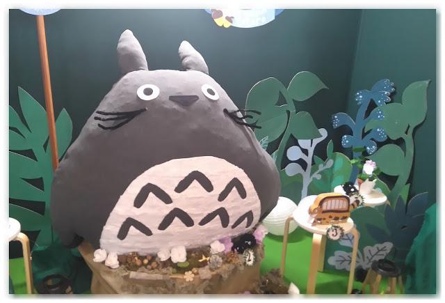 Totoro géant Amélie's workshop