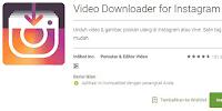 Cara Mengambil Video di Instagram Menggunakan Aplikasi Android
