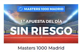 Paston Mutua Madrid Open apuesta sin riesgo 7-13 mayo