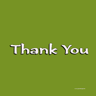 Simple Thank you Image