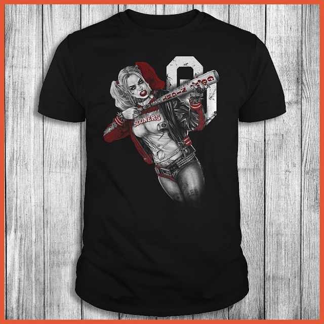 Oklahoma Sooners Harley Quinn T-Shirt