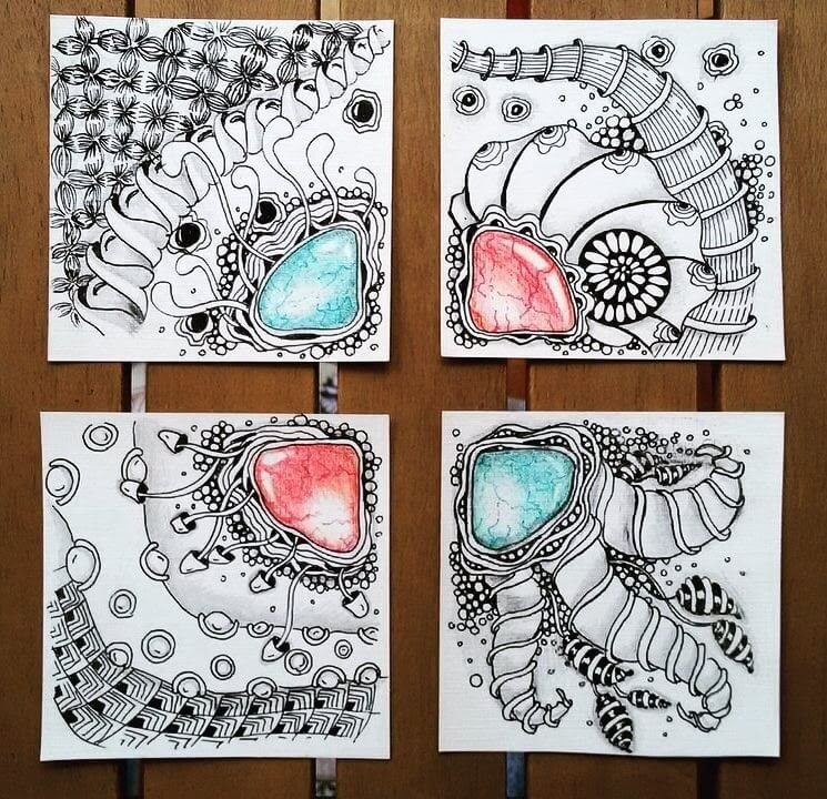 11-Tiles-to-make-a-bigger-Drawing-hello_zenart-Different-Styles-and-uses-for-the-Zentangle-Pattern-www-designstack-co