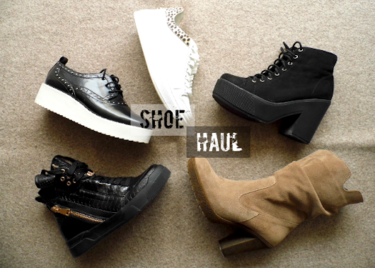 Shoe Haul and a new post every day!