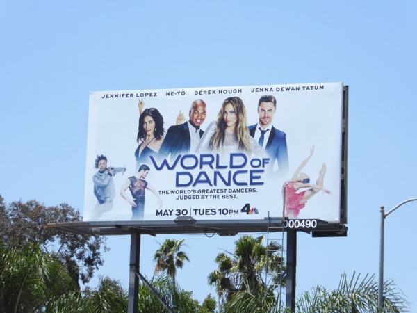 World of Dance season 1 billboard