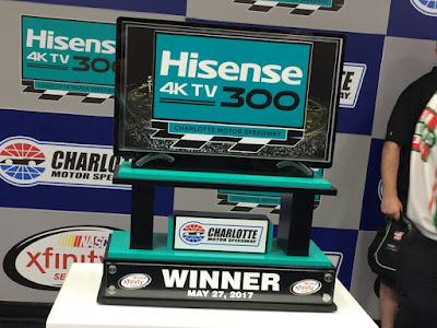 Ryan Blaney Wins the Hisense 4K TV 300 #nascar #Hisense4kTV300