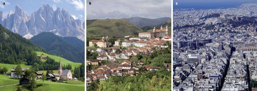 Imagenes De Zonas Rurales Y Urbanas