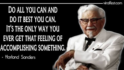 harland sanders quotes