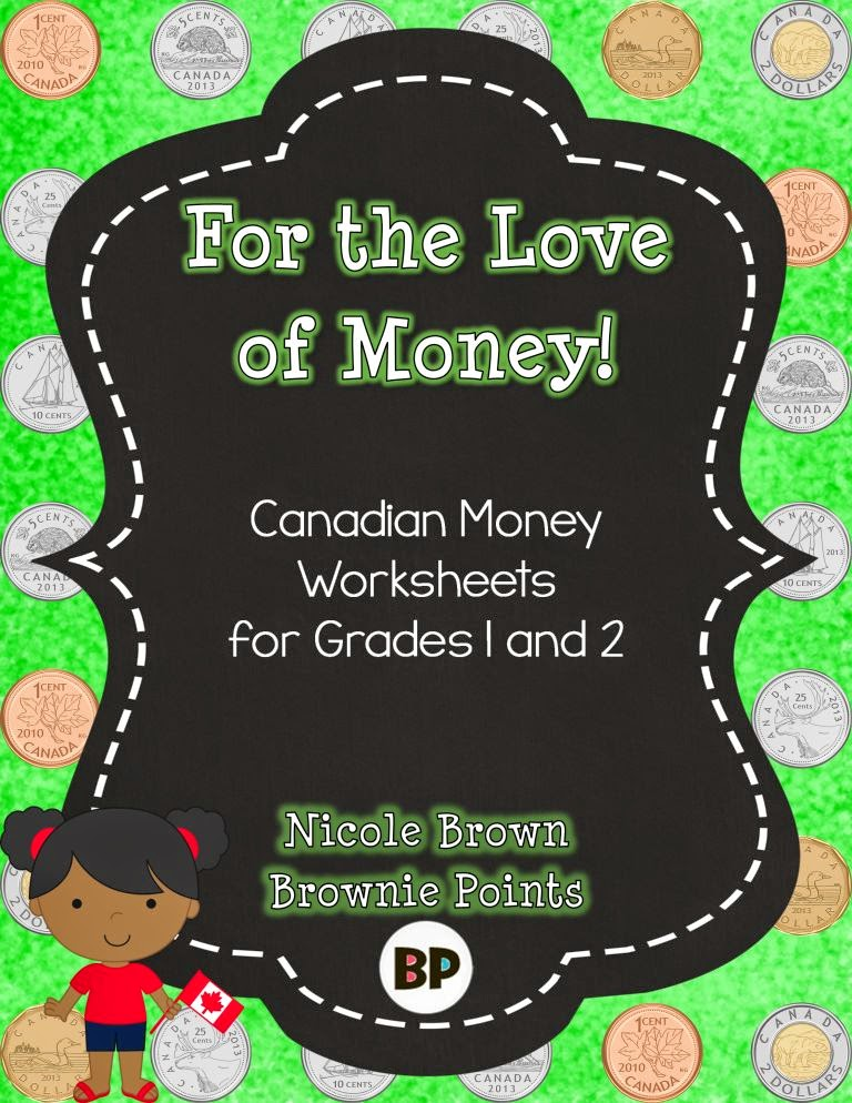 http://www.teacherspayteachers.com/Product/Canadian-Money-Worksheets-1247509