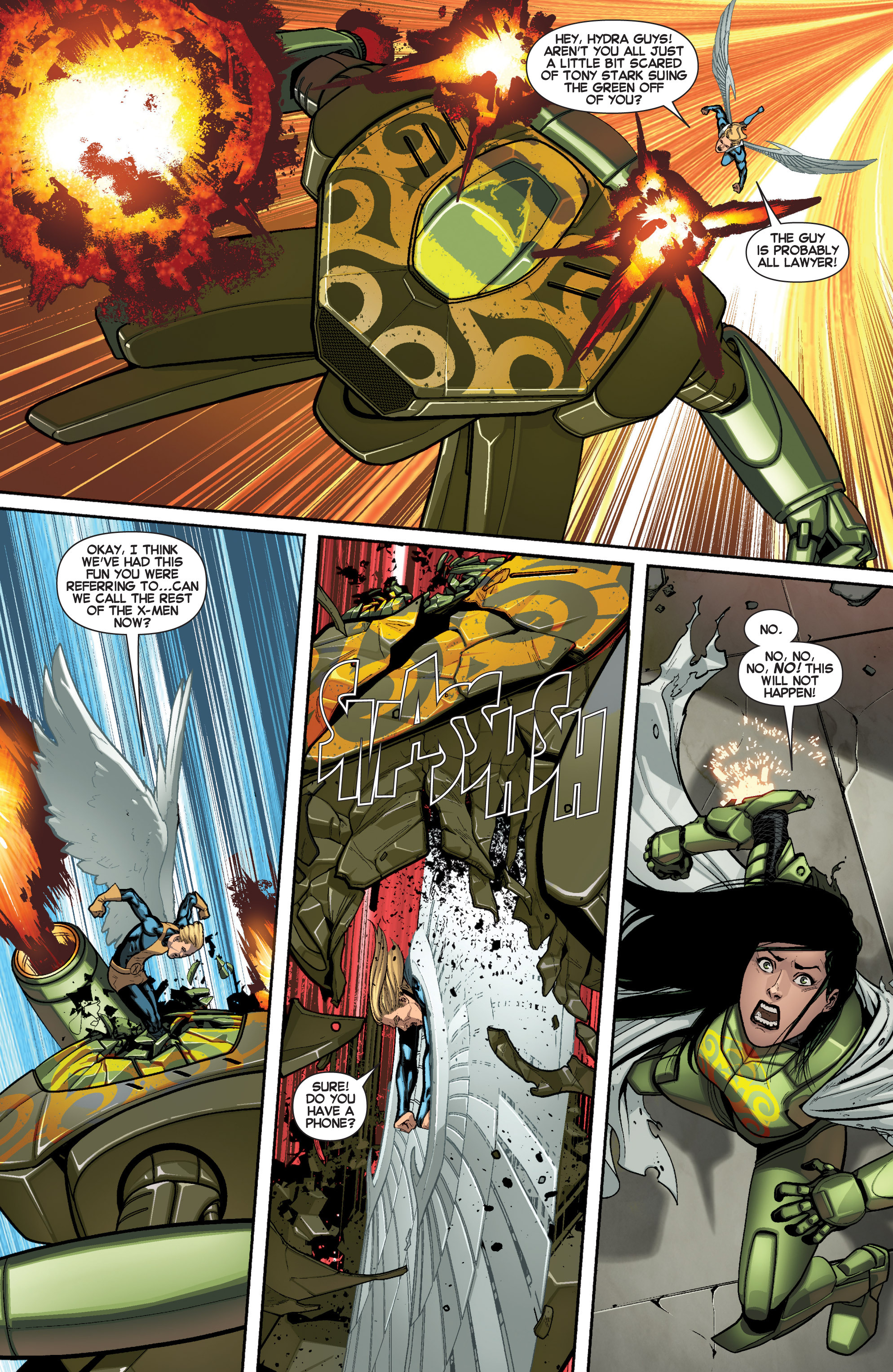 Read online All-New X-Men (2013) comic -  Issue # _Special - Here To Stay - 50