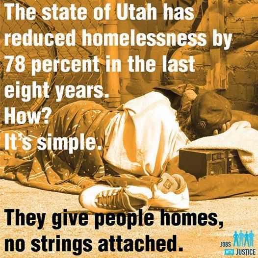 Utah: Giving Homes For The Homeless People