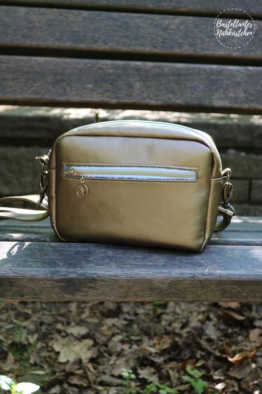 Cambag Tessa Gr. L von Crearesa Tasche aus Kunstleder selber nähen