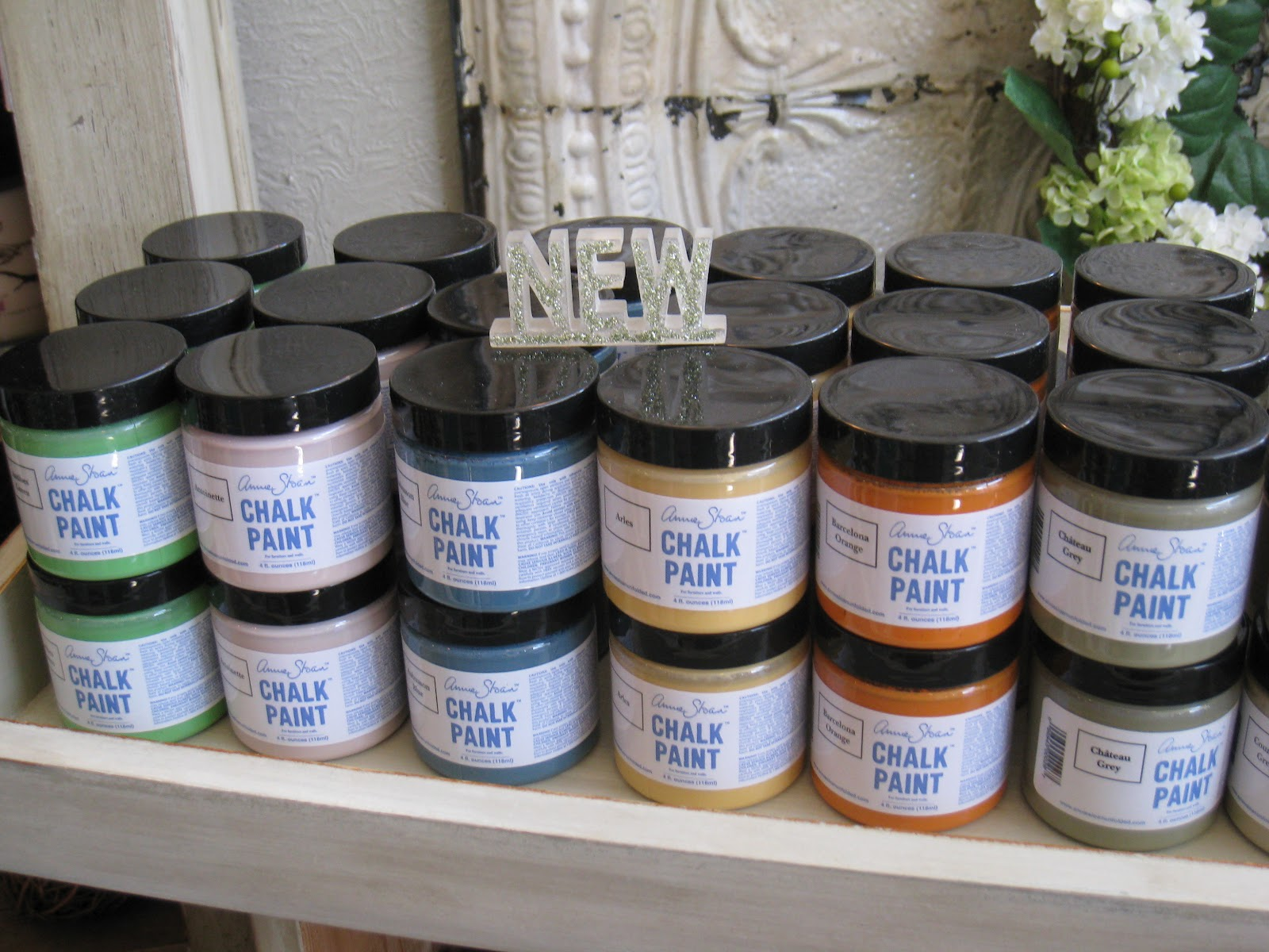 A French Touch Chalk Paint 174 Tester Pots