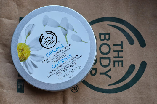 The Body Shop Chamomile cleansing butter