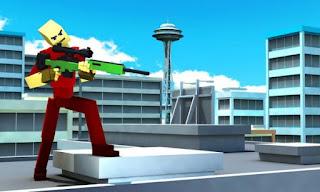 Pixel Survival Sniper Apk v1.1 Mod