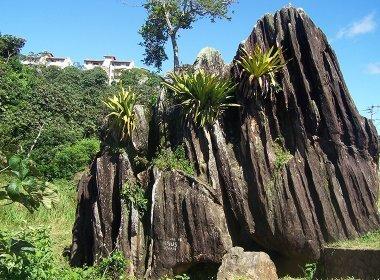 Pedra de Xangô em março