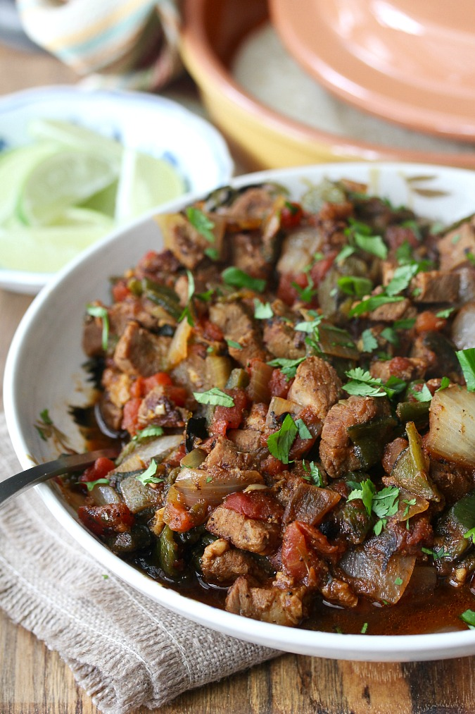 New Mexico Style Pork and Green Chile Stew