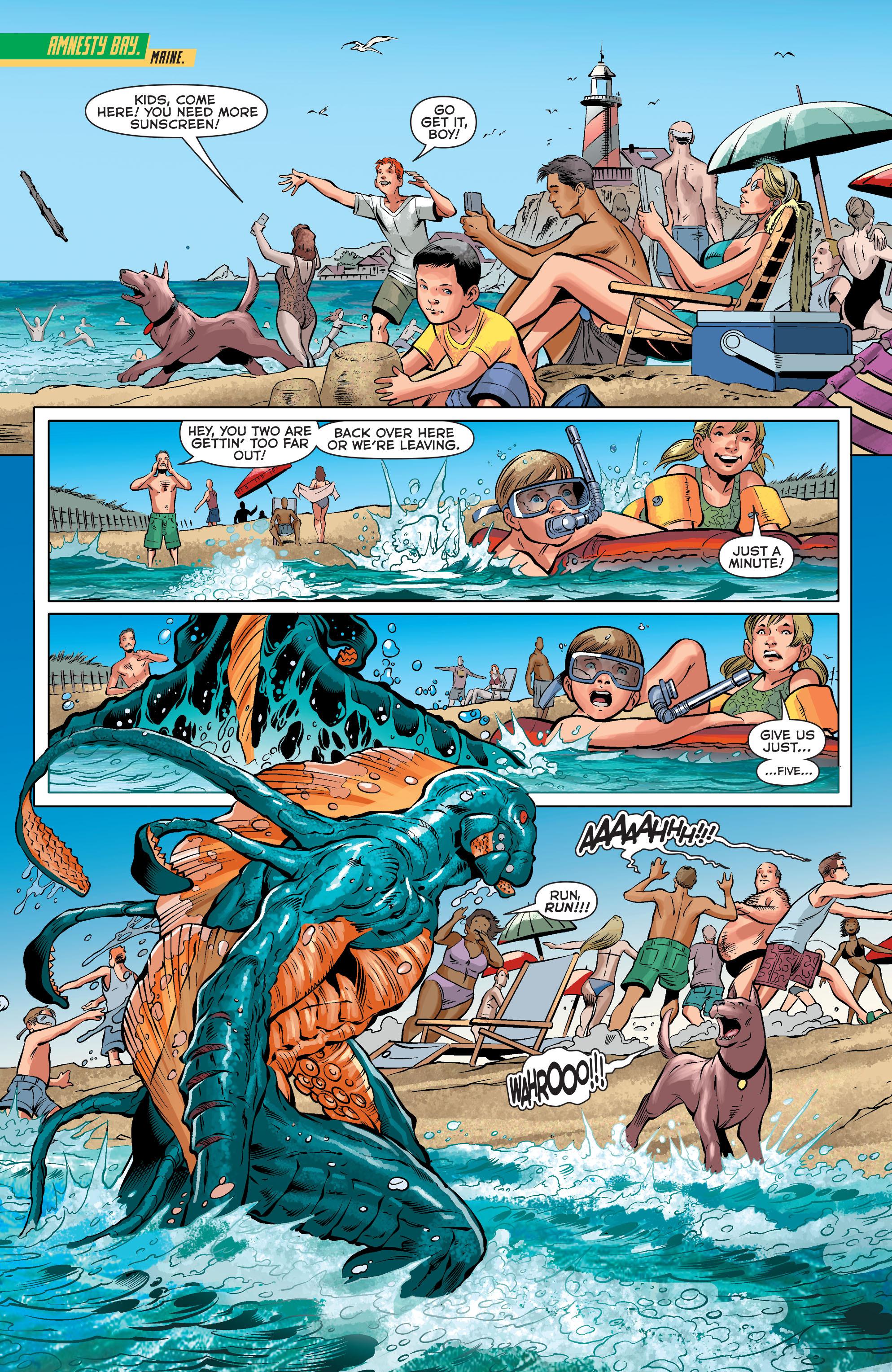Read online Aquaman (2011) comic -  Issue #33 - 9